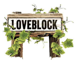 Loveblock sign post